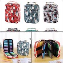 150 pcs School Pencil Case Stationery Pen Bag Cosmetic Box Canvas Cute P... - $35.99