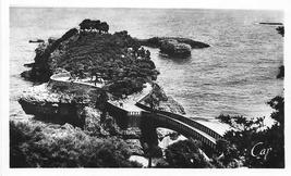 France Biarritz Le Basta Bridge Vintage CAP Postcard - $4.99