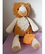 Scentsy Buddy Scratch Cat Plush Stuffed Animal Tingelo Scent Pak Orange ... - $15.82