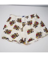 Vintage Hard Rock Cafe M Flannel Boxer Shorts Guitars Made In USA - $29.65