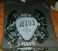 Pick Jesus Christian T-shirt  ( New) MEDIUM - $9.95