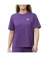 Fila Womens Short Sleeve Crew Neck Jersey Tee Gothic Grape XX-Large - $10.87