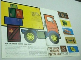 1961 Print Ad GMC Trucks Triumph of the 60's Aluminum Tilt Cab - $13.87