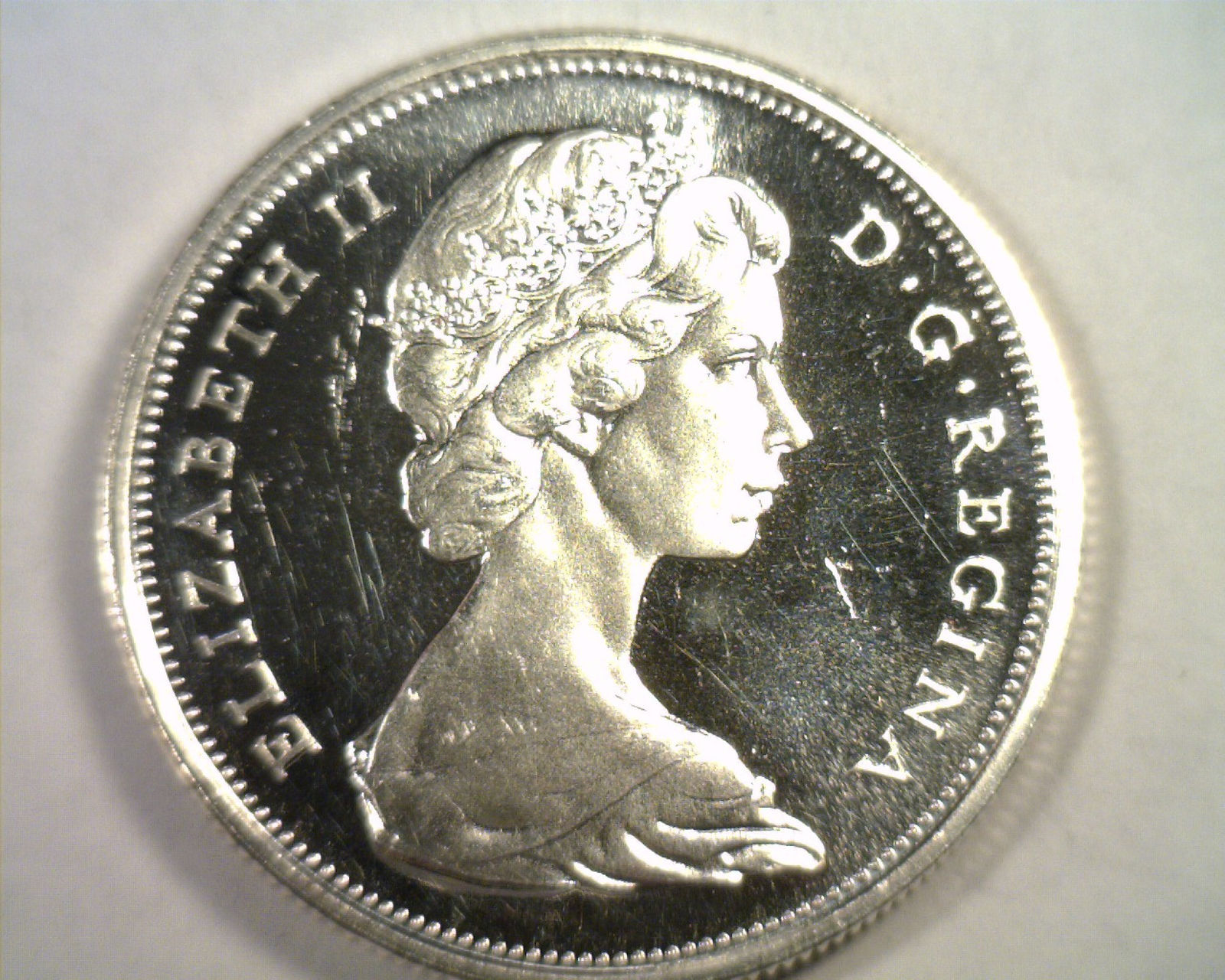Primary image for 1967 CANADIAN HALF DOLLAR CHOICE UNCIRCULATED / GEM PROOF LIKE CAMEO ORIGINAL