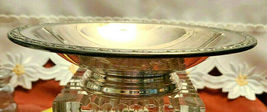 Vintage ONEIDA Silversmiths Silver Plated Footed Nut Candy Serving Bowl Dish image 3