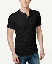 American Rag Mens Henley T Shirt Black Size Small - NWT - $14.24