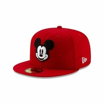 Disney Mickey Mouse New Era 59Fifty Fitted Hat Sz. 7-1/4 Limited Edition... - $70.00