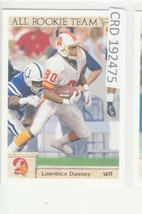 1992 Upper Deck Lawrence Dawsey WR Tampa Bay Buccaneers #36 192475 - $1.86