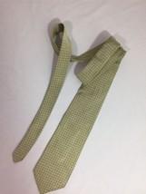 Brooks Brothers Men Green Polkadot Tie Size 59 100%silk  Made In U.S.A B... - $9.50