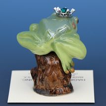 Birthstone Tree Frog Prince May Emerald Miniatures by Hagen-Renaker image 3