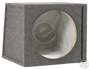 EFX SCOSCHE SEV12CC SINGLE 12 Vented Subwoofer Enclosure