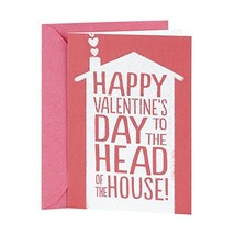 Hallmark Shoebox Funny Valentine's Day Card for Your's One(Head of the H... - $5.25