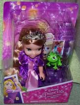 "My First Disney Petite Rapunzel 6"" Doll & Pascal New - $16.50"