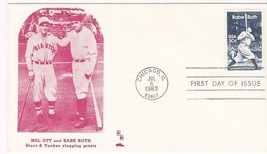 BABE RUTH #2046 CHICAGO, IL JULY 6, 1983 HM CACHET D-617 - ₹228.14 INR