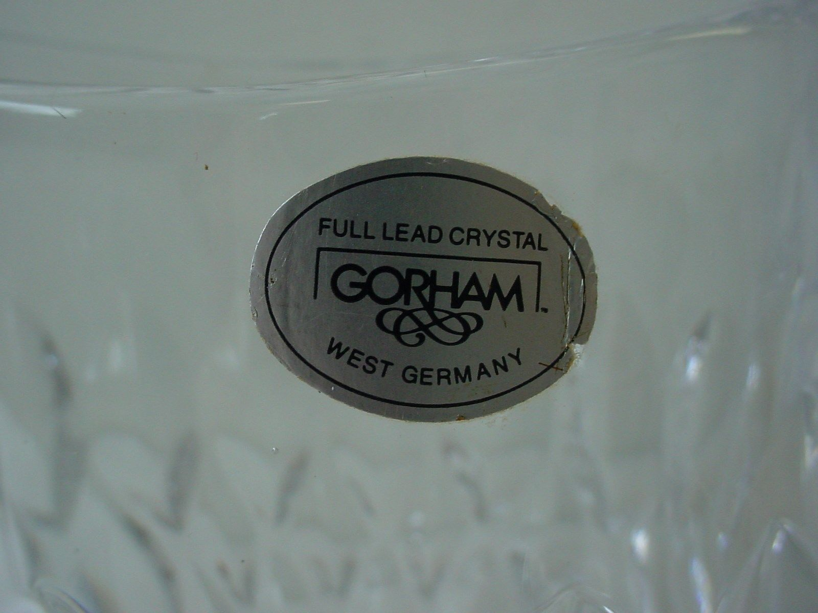 Gorham full lead crystal vase west germany and 15 similar items reviewsmspy