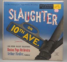 Vintage Slaughter On 10th Avenue Ballet Arthur Fiedler Record Album Viny... - £23.55 GBP