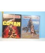 Lot of 2 Cinefantastique: Conan The Barbarian Vol.12 2&3 = Conan Vol.11 ... - $33.49