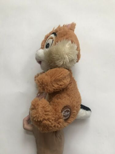 "Disney Store Chip Rescue Rangers Chip & Dale Plush Chipmunk 7"" Stuffed Animal image 4"