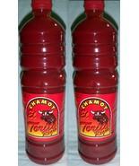 2 Bottle El Torito Regio Chamoy Sauce Fruit Salsa Picante Botanera 1 Li... - $40.00