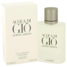 Giorgio Armani Acqua Di Gio 3.3 Oz Eau De Toilette Cologne Spray - $90.79