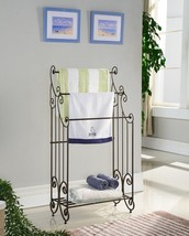 Kings Brand Furniture Pewter Metal Free Standin... - $62.87