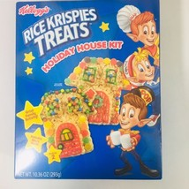 Rice Krispies Treats Holiday House Kit Makes 2 Includes House Mold New Sealed - $25.00