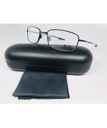 ✳ New Oakley OX3125-0155 Black TITANIUM KEEL BLADE Eyeglasses 55mm with ... - $108.90