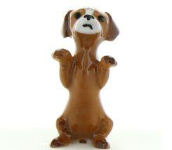 Hagen Renaker Dog Puppy Begging Ceramic Figurine image 7