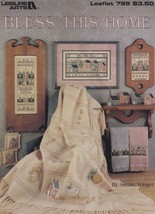 Bless This Home, Leisure Arts Counted Cross Stitch Pattern Booklet 799 - $3.95