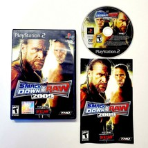 WWE SmackDown vs. Raw 2009 ECW (PlayStation 2 PS2 2008) Complete with Manual - $14.20