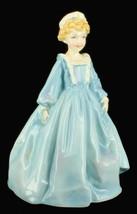 Vintage Royal Worcester Hand Painted Figurine Grandmother's Dress - $44.99