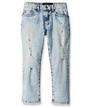 Lucky Brand Boys Classic Fit Straight Leg Denim Skinny Jean, Skyway Wash... - $24.75