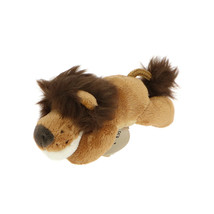 MagNICI Lion Brown Stuffed Toy Animal Magnet in Paws 5 inches 12 cm - $11.00