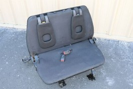 07-09 Outlander 3rd Row Fold Down Seat w/ headrests & Mount Bracket - FABRIC image 1