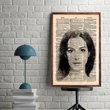 Celebrity Art Prints-Anne Hathaway Art Print-Movie Art Prints-Anne Hatha... - $11.82