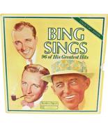 Bing Sings Bing Crosby Set of 8 LP Vinyl 96 of His Greatest Hits Reader'... - $36.04