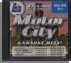 Motor City Karaoke Hits (Soul Hits vol 5) - $22.20