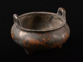 Made in China Mingdeok used copper scented copper double ear incense burner - $414.46