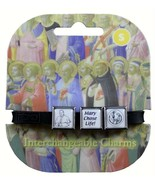 Roxo Show Your Faith Pope and Mary Chose Life Interchangeable Bracelet B... - $9.75