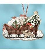 Woodland Sleigh 2017 Charmed Sleigh Ride Ornaments cross stitch kit  Mil... - $7.20