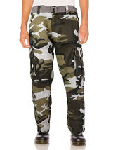 SW Men's Tactical Combat US Force Military Army Cargo Pants Trousers with Belt image 15