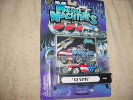 Muscle Machines Usa Tribute '62 Vette 03-46 Blown Mip Free Usa Shipping - $11.29