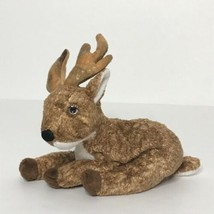 "Ty Roxie Reindeer Beanie Plush Stuffed Animal 7"" 2000 - $14.65"