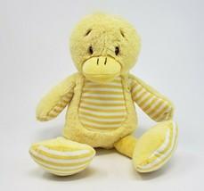 "13"" BEVERLY HILLS TEDDY BEAR CO YELLOW BABY DUCK STUFFED ANIMAL PLUSH TO... - $36.47"