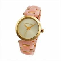 Michael Kors MK4316 Delray Blush Golden Face Wrist Watch for Women - £43.47 GBP
