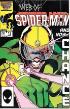 Web of Spider-Man Comic Book #15 Marvel Comics 1986 NEAR MINT NEW UNREAD - $3.99