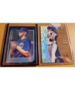 Kerry Wood 1997 Bowman RC #197 EX-2001 #101 RC Card lot Chicago Cubs Roo... - $10.00