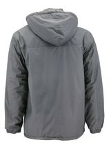 Men's Heavyweight Polar Fleece Zip Up Windbreaker Hood Insulated Jacket image 9