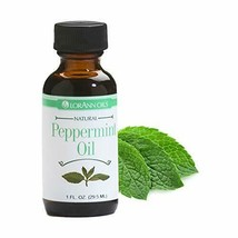 LorAnn Super Strength Peppermint Oil, Natural Flavor, 1 oz glass dropper - $11.31