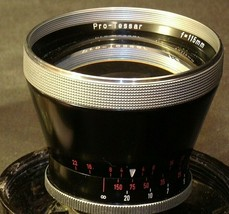 Carl Zeiss Pro-Tessar Lens f=115mm with fitted Zeiss Ikon Case AA-192033 Vintage